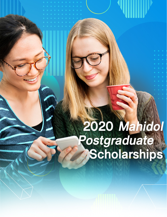 2020 Mahidol Postgraduate Scholarships