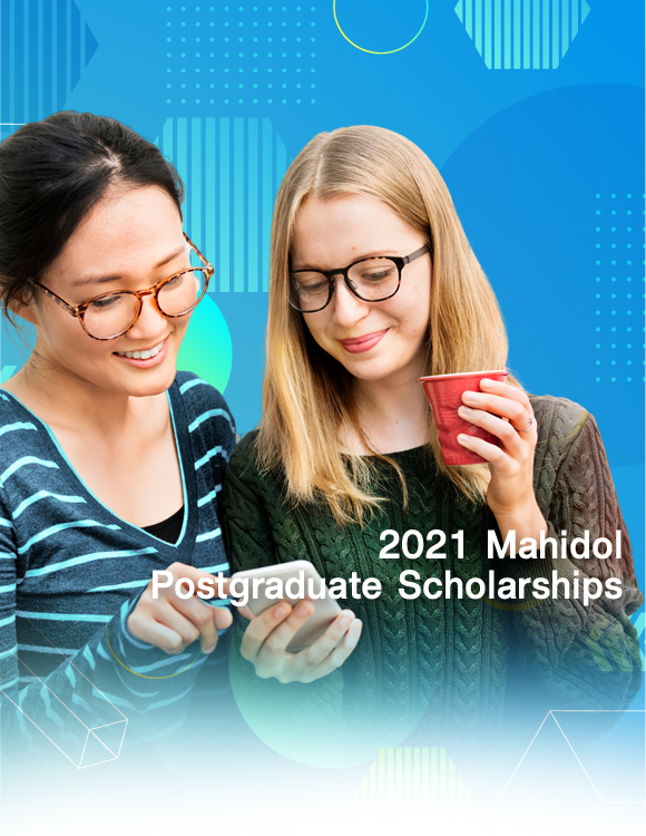 2021 Mahidol Postgraduate Scholarships