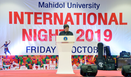Mahidol University International Night 2019